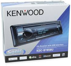kenwood kdc btu single din bluetooth car stereo product kenwood kdc bt858u