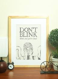 awesome and beautiful doctor who wall art home decorating ideas decor dont blink dr bicycle interior