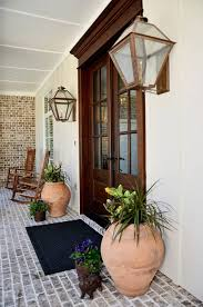 35 front door flower pots for a good