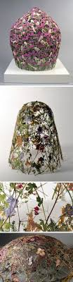 Pressed Flowers Transformed Into Delicate Sculptures by Ignacio Canales  Aracil The art of pressing and preserving