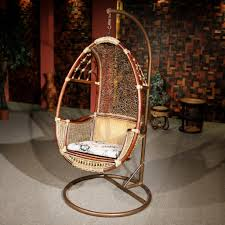 build hammock chair stand with hanging indoor rattan swing chair