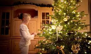 Wonderful DIY Christmas Tree Nails At HomeAt Home Christmas Tree