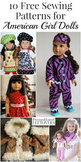 American Girl Clothes Patterns Unique 48 American Girl Doll Clothes Free Sewing Patterns