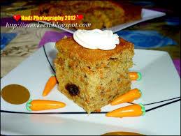Cute Oven Small Kitchen Banana Carrot Cake Kek Pisang Lobak Merah