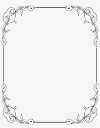 Floral Borders For Word Ive Already Re Sized The Frame So It Fits Perfectly