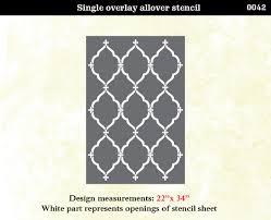 stencil boss lattice morrocan pattern wall home decor