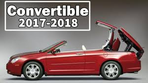 2018 chrysler convertible. Brilliant 2018 Best 10 Convertible Cars 20172018  Buying Guide 2018 Throughout Chrysler Convertible E