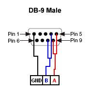 how can i connect a usb 485 to a device only three pins using wiring schematic wiring schem jpg