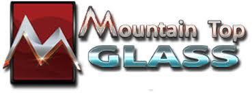mountain top glass mirror