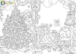 25 Idee Kerst Tekeningen Zwart Wit Kleurplaat Mandala Kleurplaat