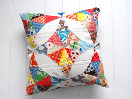 Make Your Own Fun Quilted Throw Pillows & Quilted Pillow Adamdwight.com
