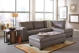 gray leather ottoman with gray costco leather sofa