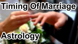 Timing Of Marriage In Astrology Horoscope Secrets