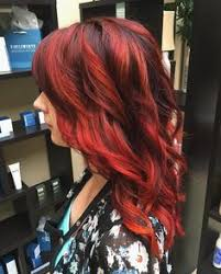 a fiery color melt on amariah a deep violet base blended into dimensional red and