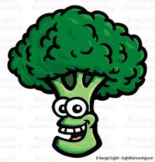 broccoli clipart. Delighful Broccoli Smiling Broccoli Cartoon Character Clip Art Stock Illustration By George  Coghill Inside Broccoli Clipart L