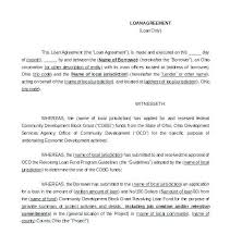 Consultant Contract Template Best Standard Loan Contract Template Free Agreement Forms Consulting