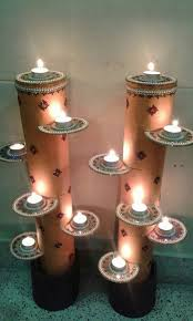 diy diwali home decoration ideas how to decorate diwali diyas from