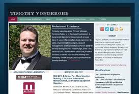 Personal Website Resume Elephantroom Creative