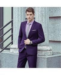 Light Purple Tuxedo Vest Mens Purple Suit Set Suit Vest Pants High Quality