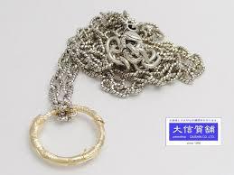 gucci 750 yellow gold snake ring pendant necklace 461997 08202 8170 reebonz australia