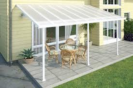palram feria 10x20 patio cover white