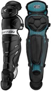Baseball Shin Guard Size Chart Easton Elite X A165417 Intermediate Baseball Leg Guards