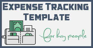 Expense Excel Template Free Template Download 1 Page Excel Expense Tracker For