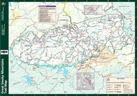 smoky mountains map