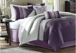 royal purple comforter enna purple 7 queen comforter set primary bedding ens royal purple and gold