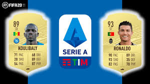 FIFA 20 Serie A top player ratings revealed