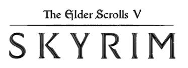 Elder Scrolls Skyrim Logo transparent PNG - StickPNG