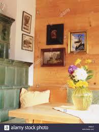 Wohnraum Kachelofen Detail Zimmer Bauernstube Küche