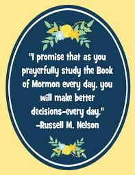 Mormon Quotes Interesting I Promise That As You Prayerfully Study The Book Of Mormonquote
