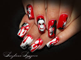 Halloween Nail Art Designs   Luxury Nail Design For Halloween ...