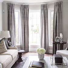 bay window ideas living room. Lovely Bay Window Treatment Off Center Can Still Work In Delightful Living Room Ideas