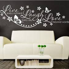 Vinyl Live Laugh Love Wall Art Sticker Lounge Room Quote Decal Mural Enchanting Love Wall Quotes