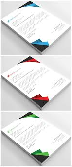 Free Business Letterhead Psd Template Free Pik Psd
