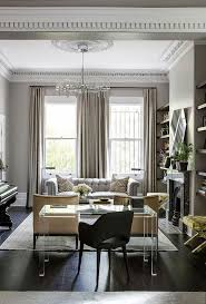 Gold, cream and grey living room. Love the mixture of modern and traditional  furniture