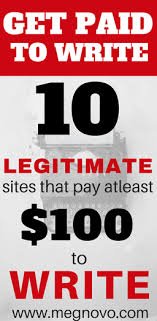 get paid to write legitimate sites that pay for lance   pay for lance writing lance writing