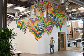 facebook headquarters interior. Modren Facebook Facebook Headquarters Interior  Art Wall To K