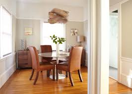 Brown Leather Dining Room Chairs Dining Table Fetching Picture Of Dining Room Decoration Using
