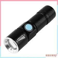 Đèn pin led chống thấm nước có cổng sạc usb tiện lợi chất lượng cao - Đèn  pin
