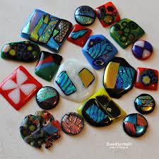 fun fused glass pendants magnets class