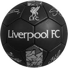 <b>Liverpool FC Signature</b> Size 5 Football New <b>Black</b> Colour: Amazon ...