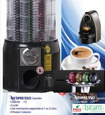 Nespresso Vending Machine Best Tower Coffee Distributor For Compatible Nespresso PRO Vending