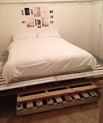 king size pallet bed king size pallet bed