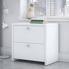 White 2 Drawer Lateral File Cabinet Echo RC Willey Furniture Store