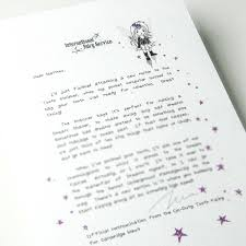 original personalised tooth fairy letters