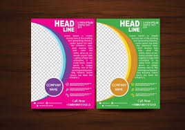 flyer design free vector vector brochure flyer design layout template in a4 size download