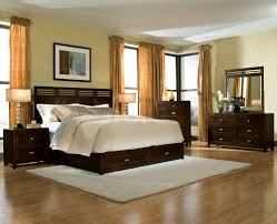 Solid Dark Wood Bedroom Furniture